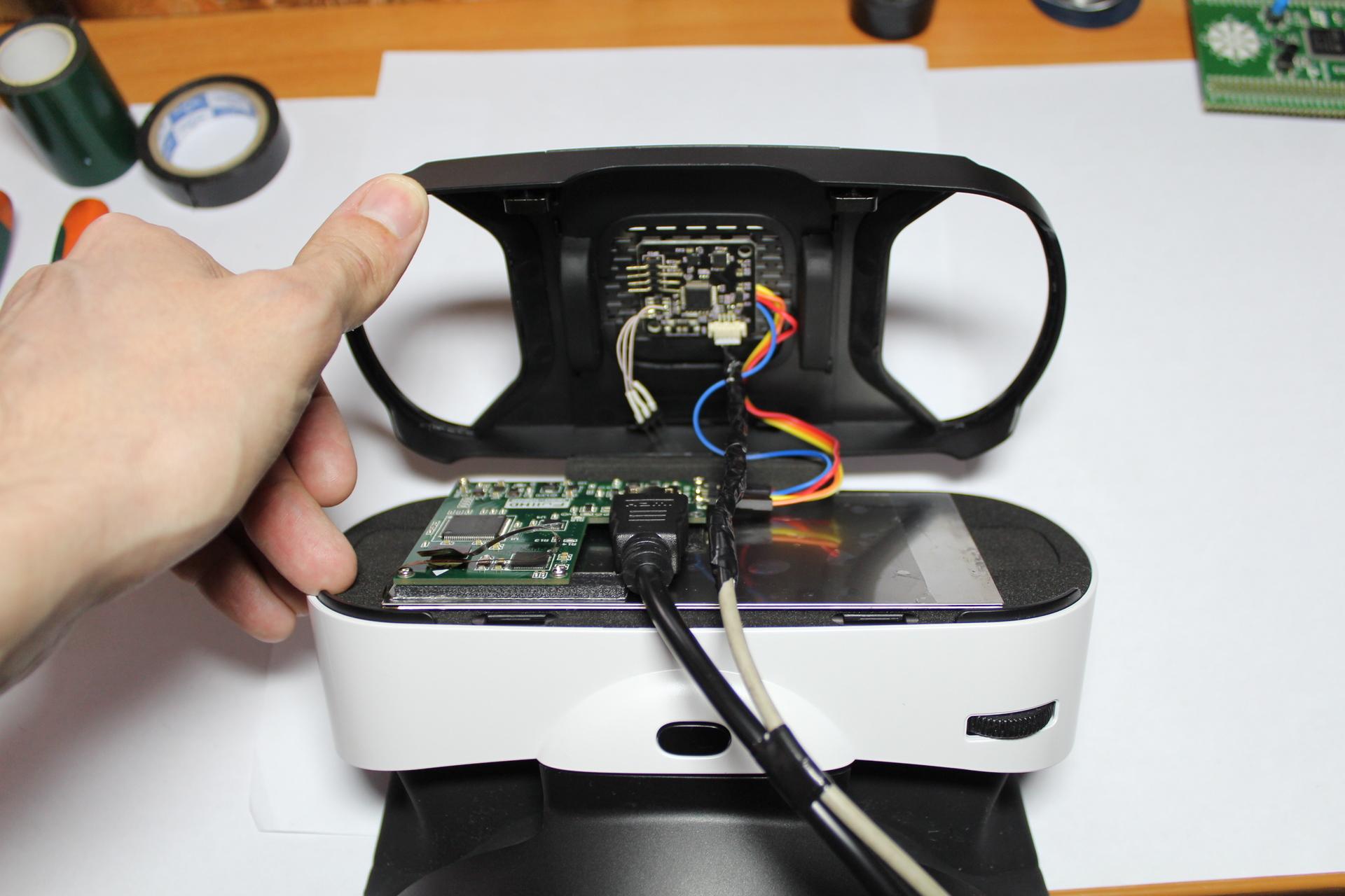 Очки виртуальной реальности своими руками для компьютера 40