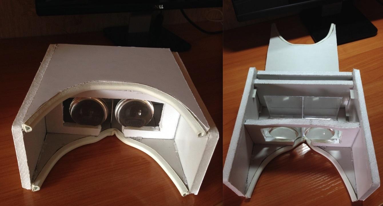 Как в домашних условиях сделать очки 3 д