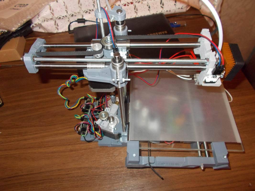 Сделать 3д принтер в домашних условиях 740