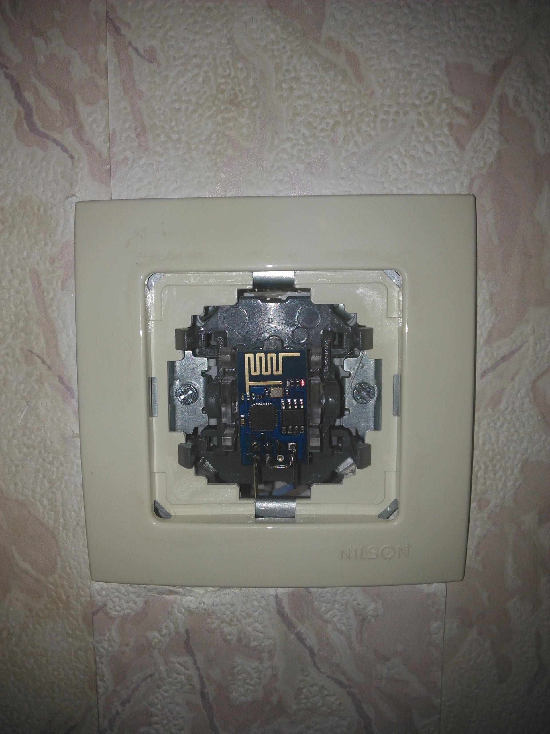 Wifi выключатель на esp8266 своими руками