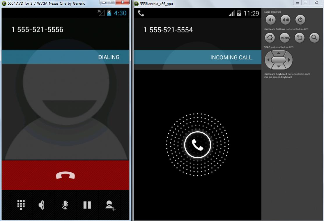 Как сделать большие при звонке в андроид 7.0