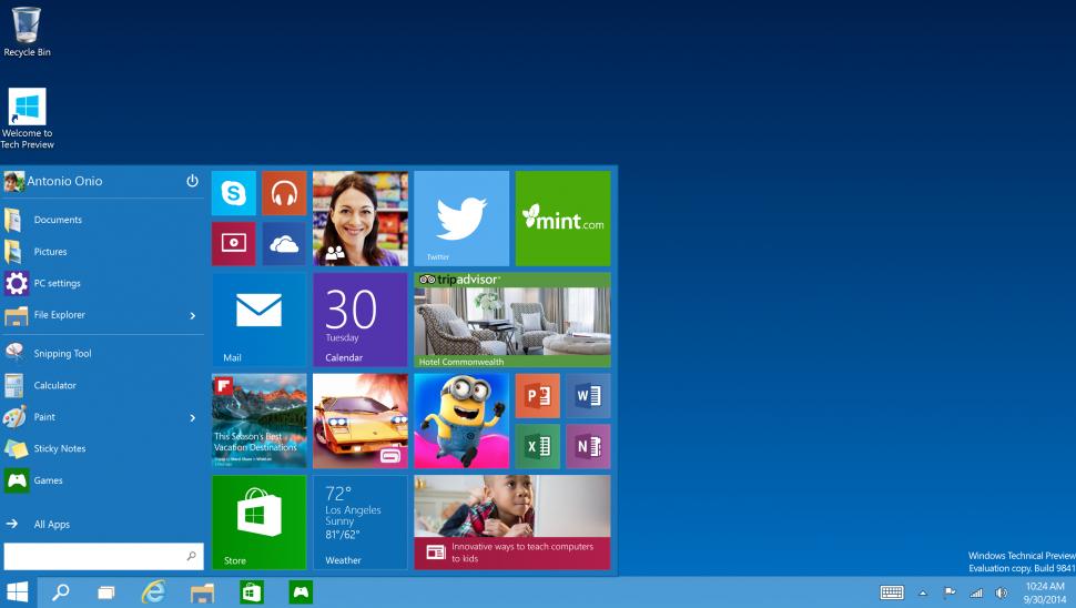 RE: Где можно скачать Windows 10 Technical Preview?