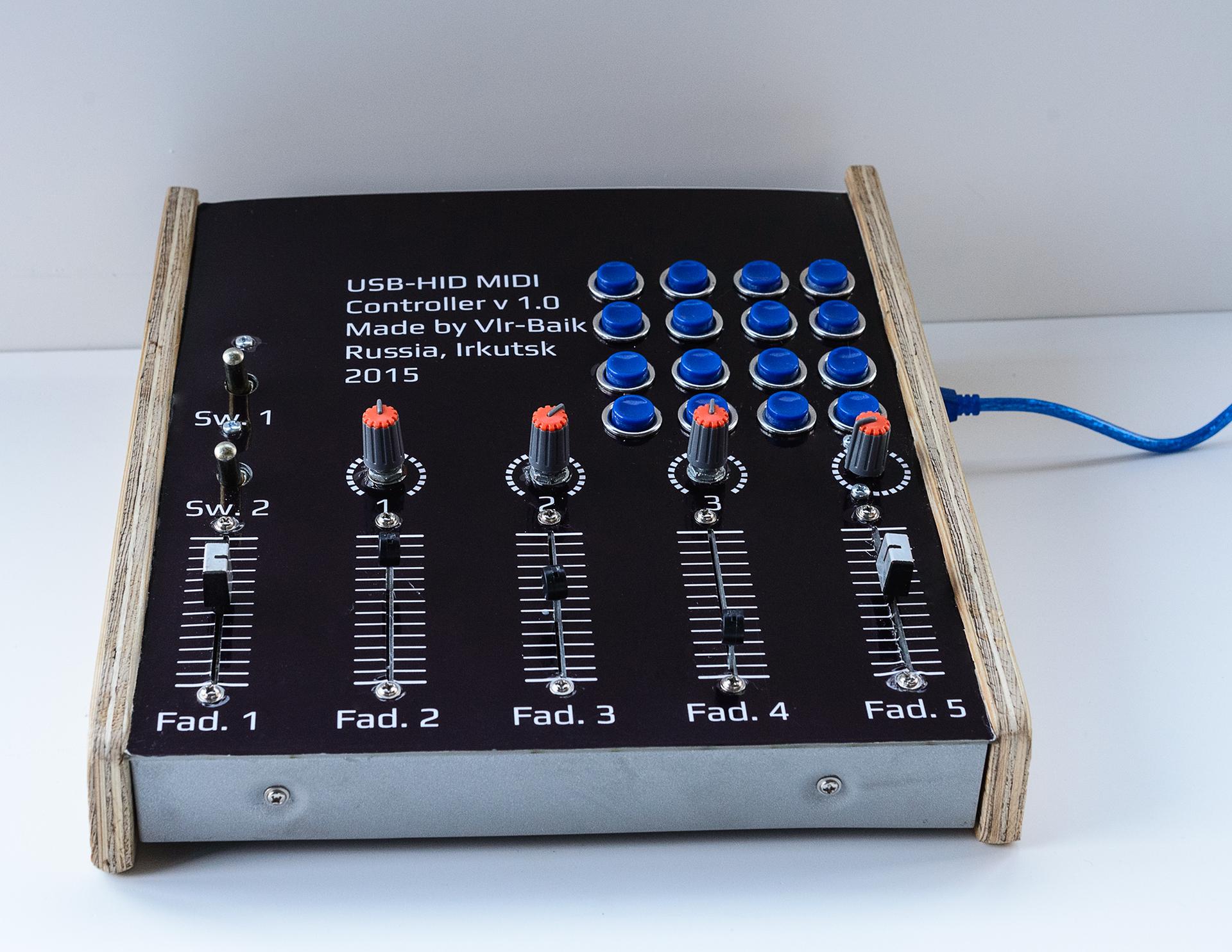MIDI -контроллеры и примочки 81