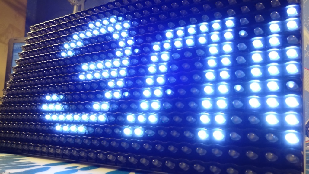Светодиодные матрицы сделай сам