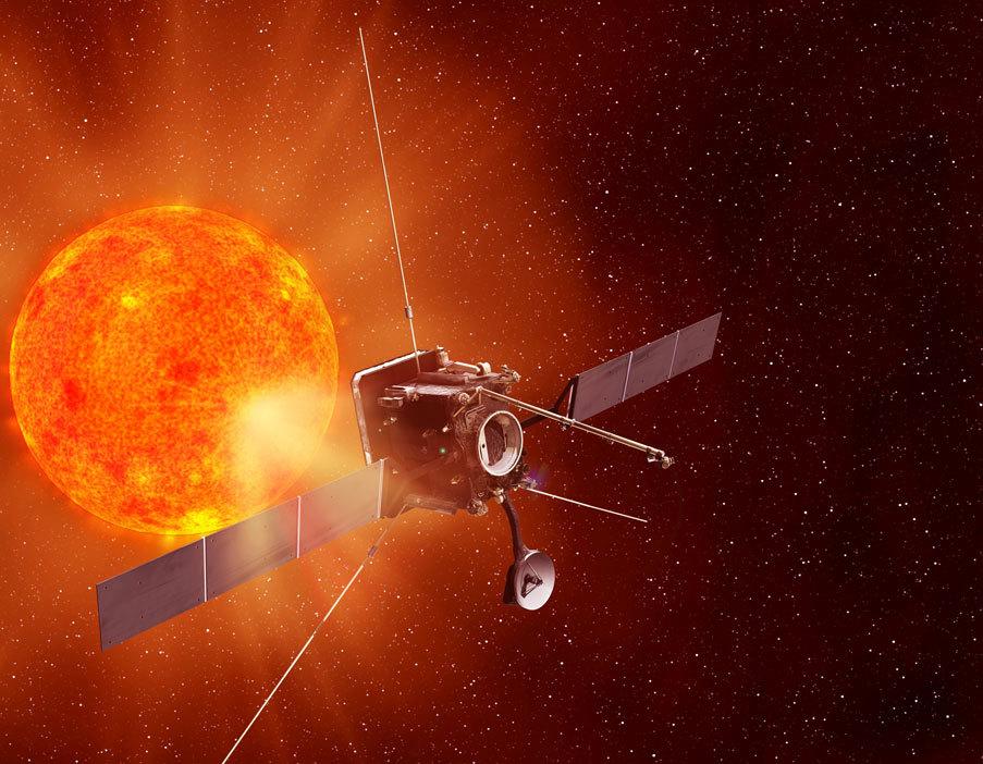 На графике показано, как солнечные вспышки могут поставить под угрозу человеческие жизни, выводя из строя спутники и