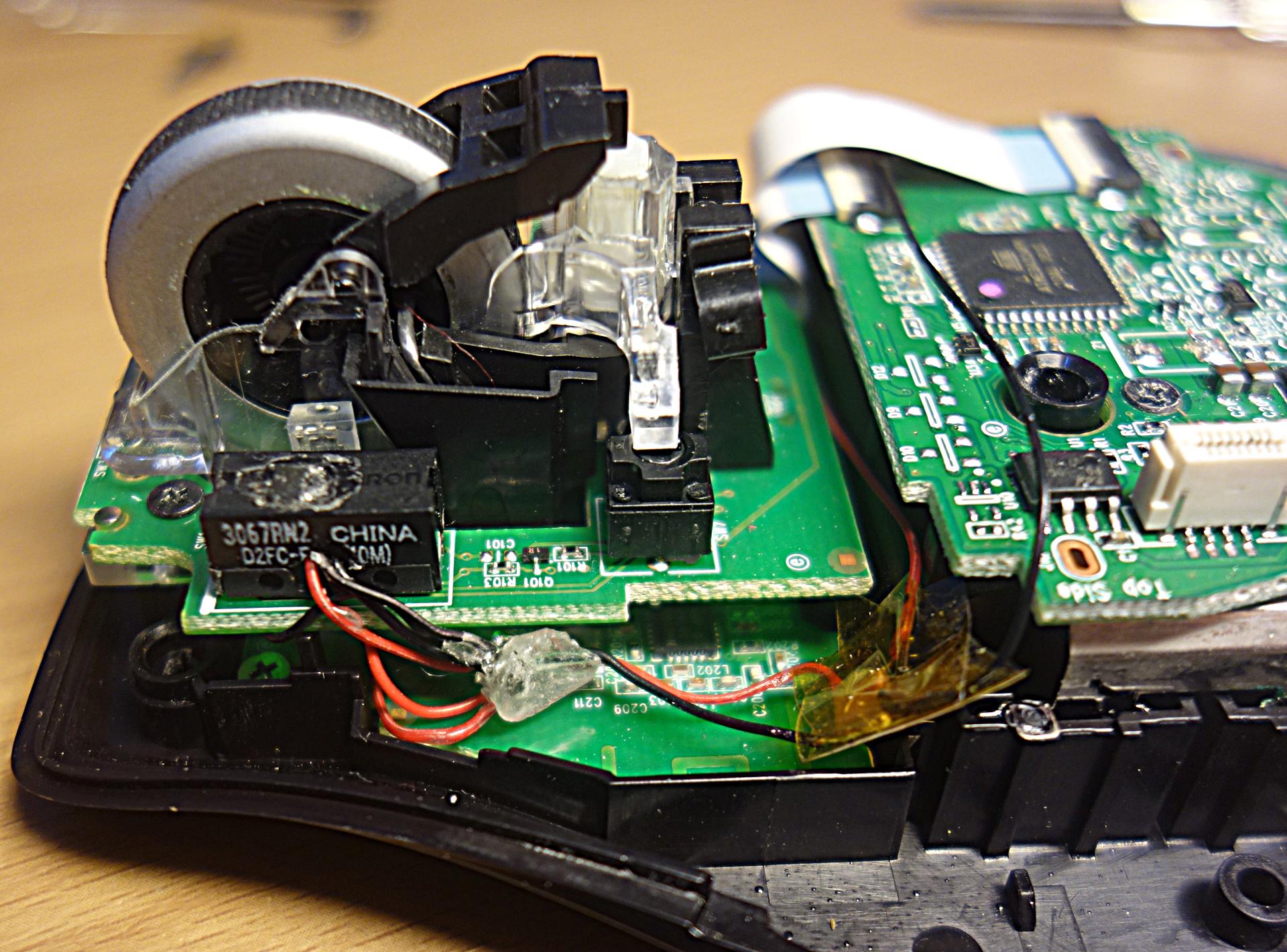 Мышка ремонт своими руками 99