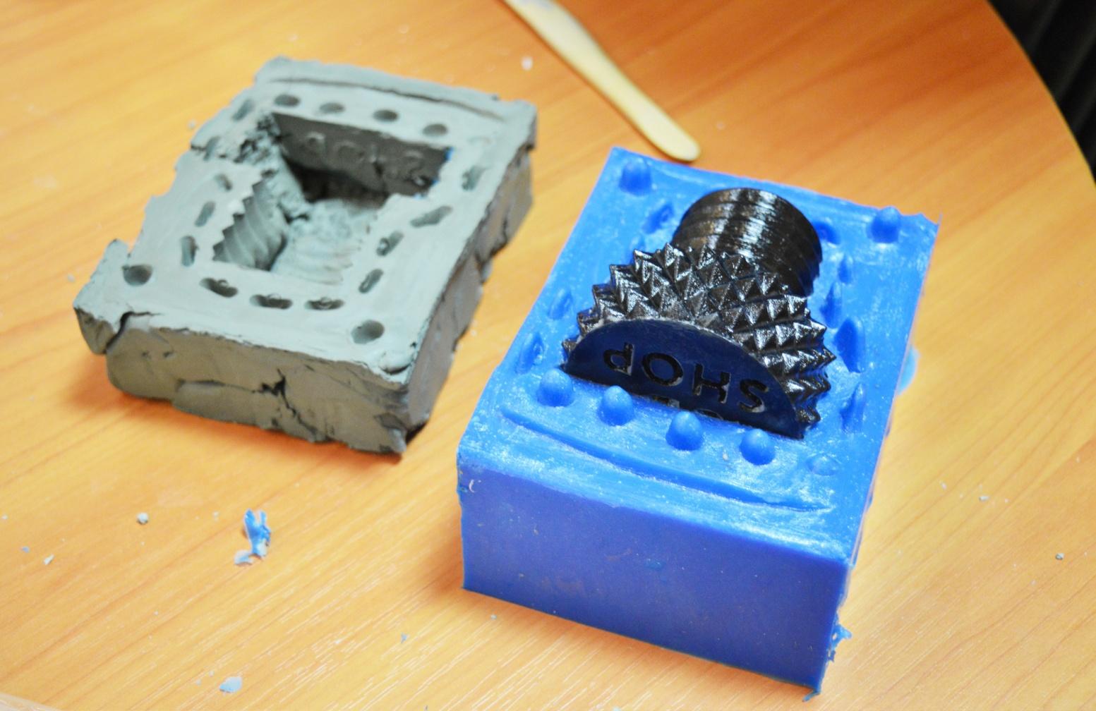 Изготовление формы для литья пластмассы