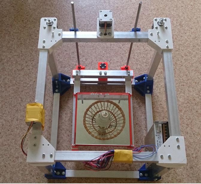 H-bot 3d принтер каркас делаем своими руками 84