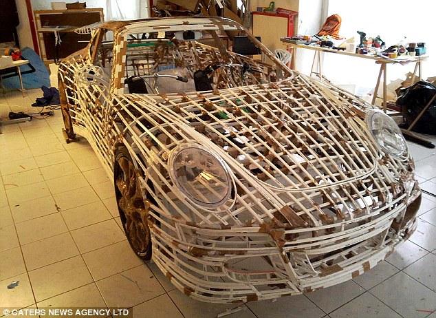 Авто из полипропиленовых труб своими руками 52