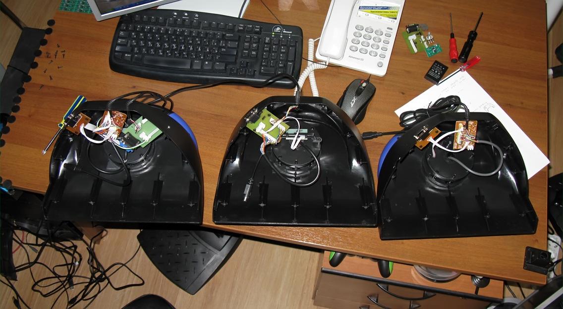 Схемы педалей игровых рулей