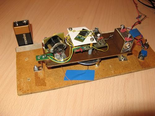Лазерный модуль своими руками
