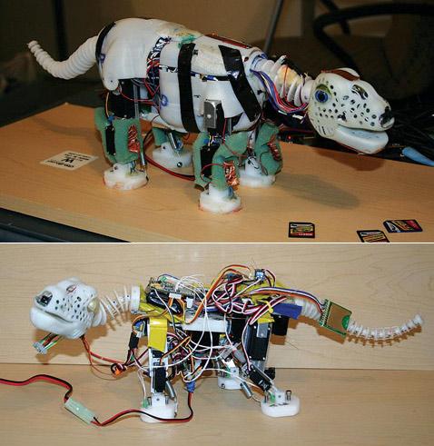 Движущиеся роботы своими руками 10