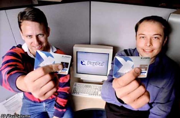 X.com і PayPal
