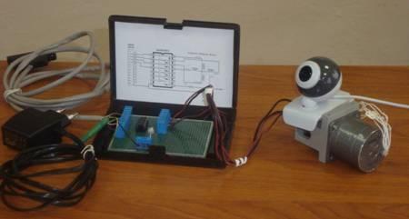 Поворотная видеокамера своими руками из