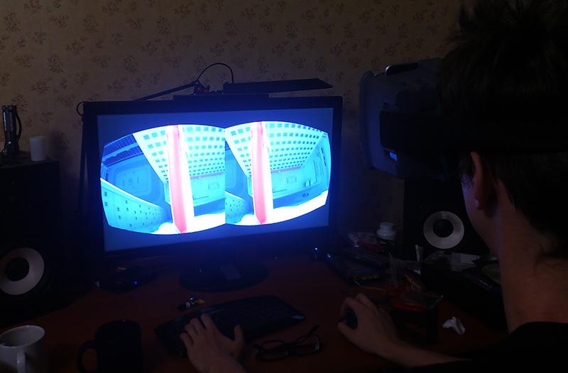 Виртуальный шлем своими руками из планшета