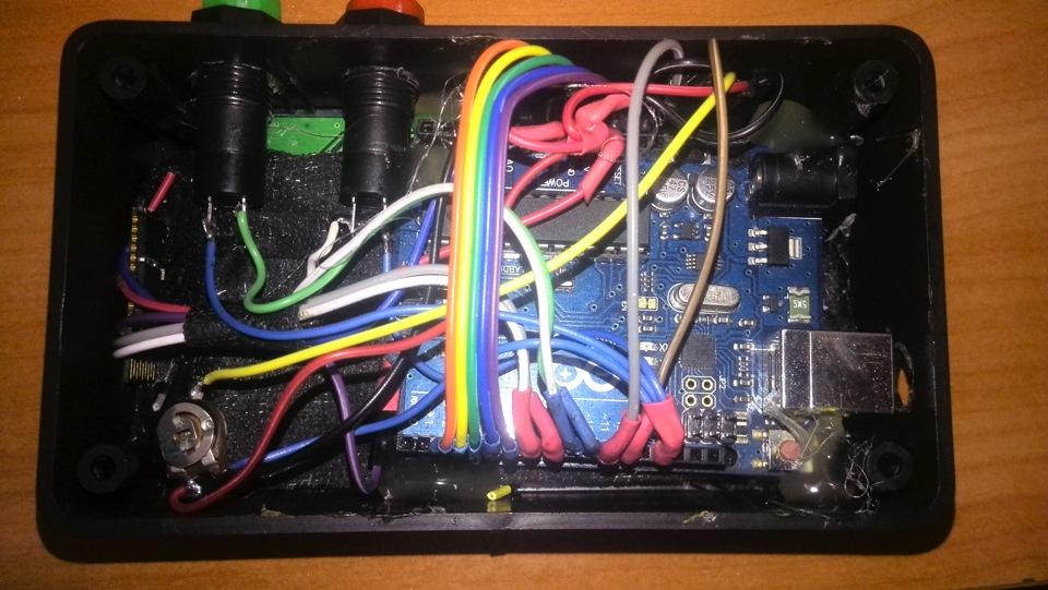 Бортовой компьютер своими руками на авто 17