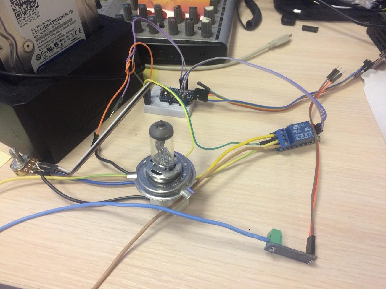 Ремонт и модернизация светодиодного аккумуляторного фонаря 6