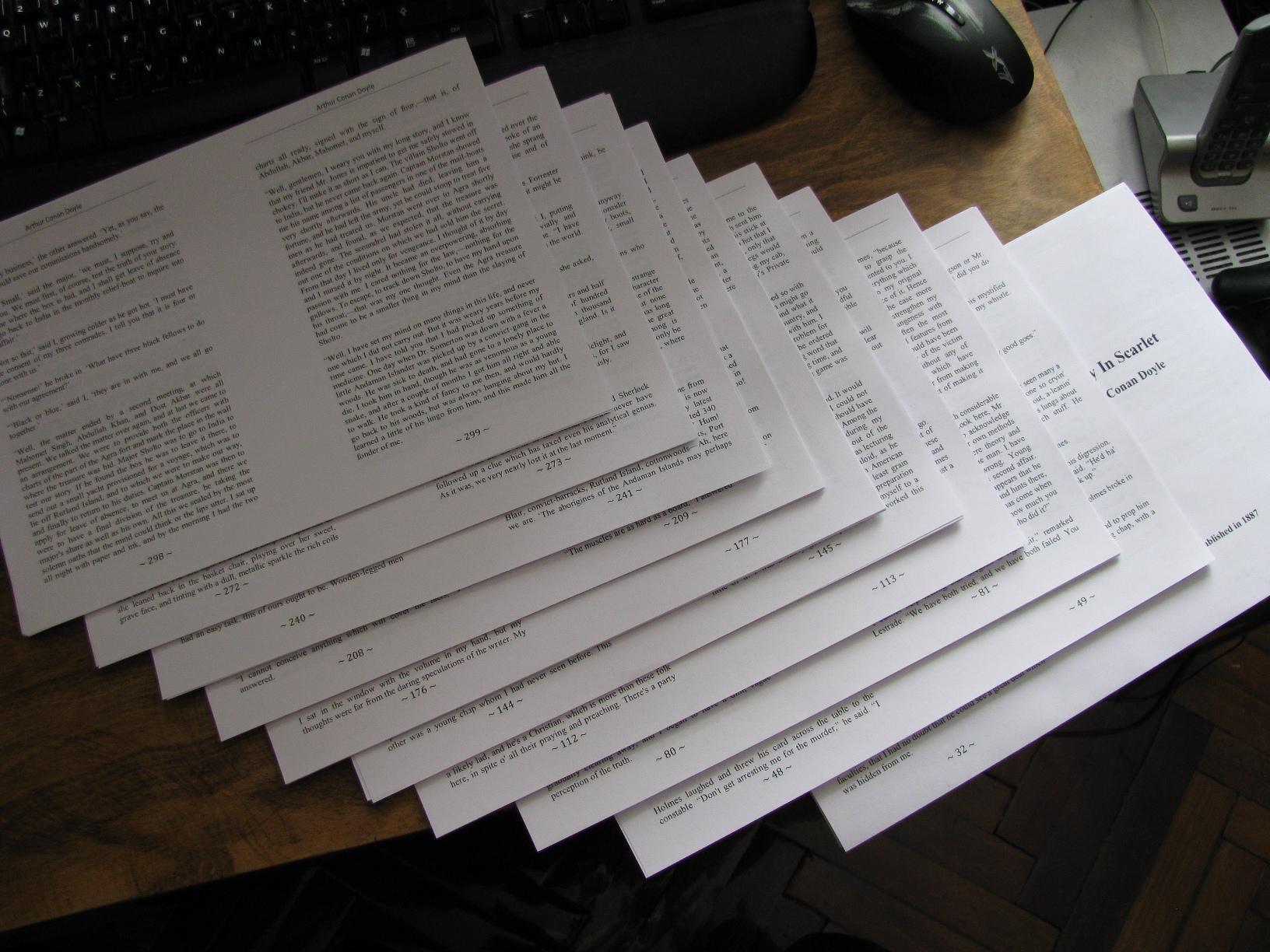 Бумага на на документ