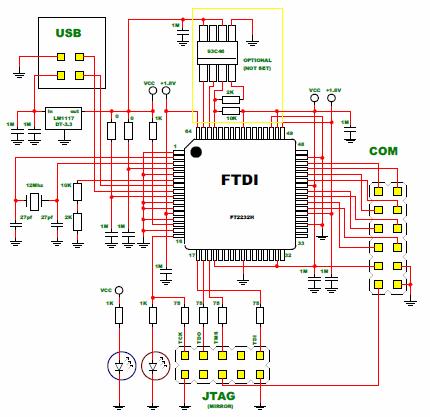 Arm-jtag программатор своими руками 48