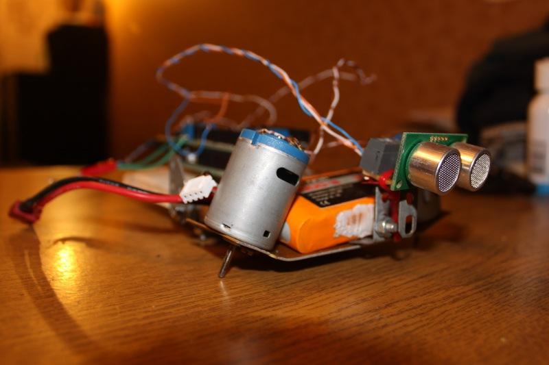 Простейший робот-черепашка на arduino / Geektimes