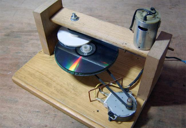 Как сделать двд диск своими руками