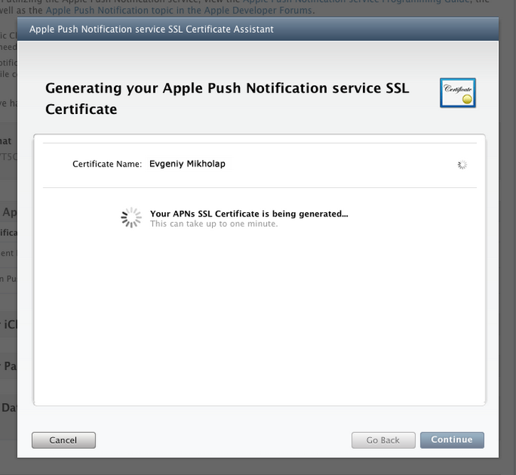 Руководство по работе с Apple Push Notification Service / Хабрахабр