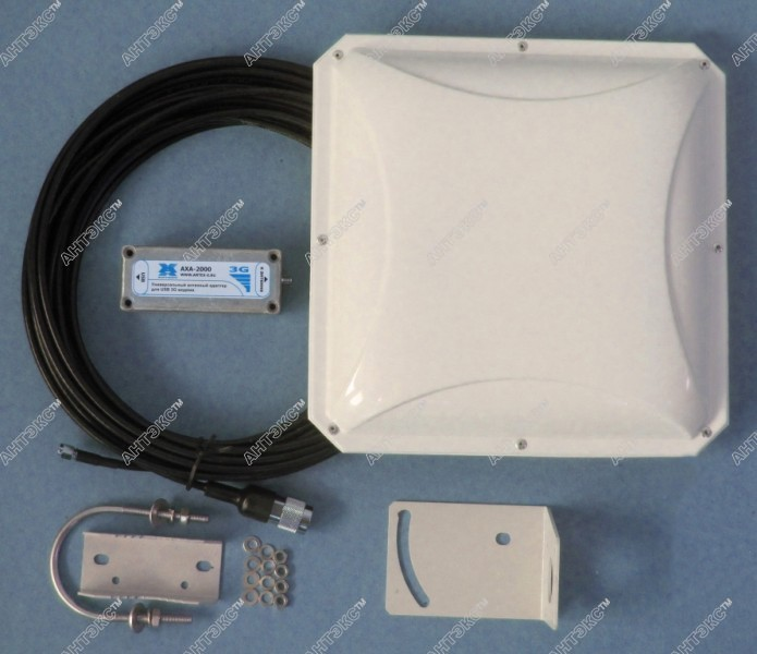 Антенна для 3g модема из дисков