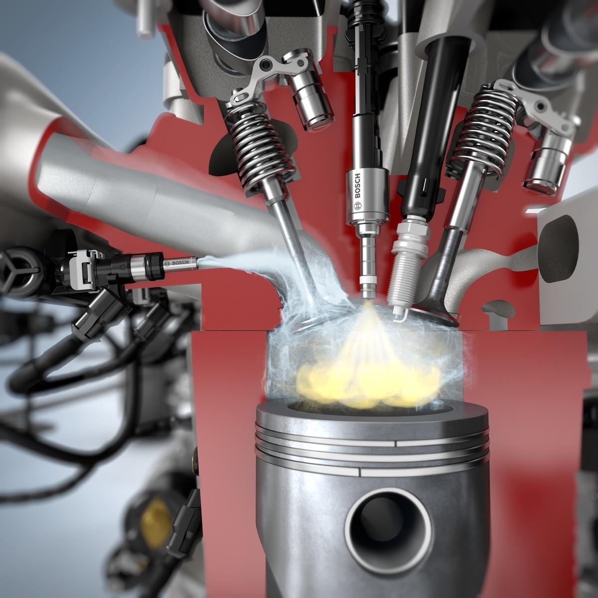 Просто добавь воды. Маленькая добавка H₂О повышает мощность ДВС и экономит топливо