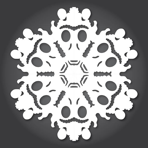 Снежинки в стилистике StarWars