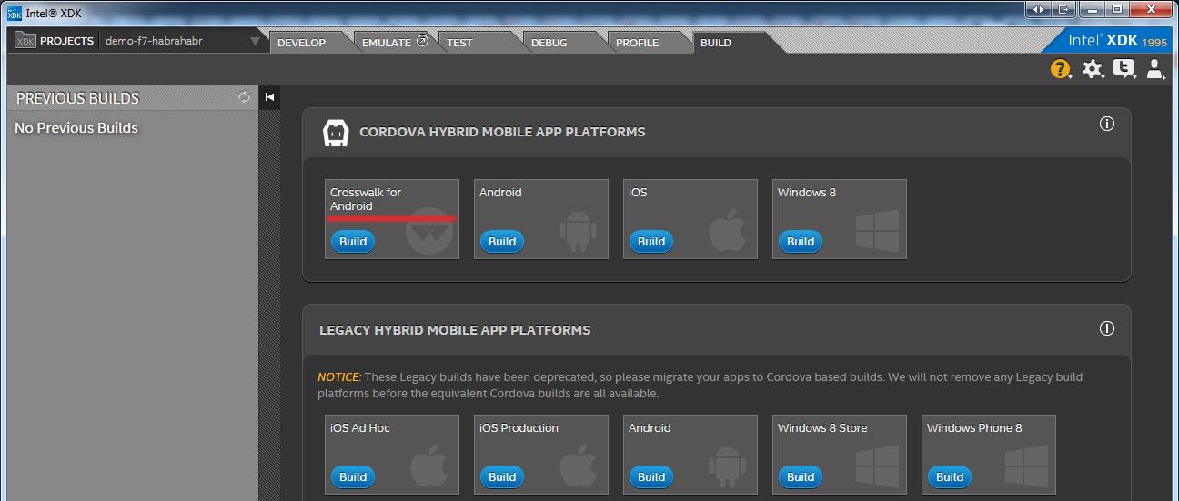 Быстрое кроссплатформенное HTML5 приложение на Framework7 / Хабр