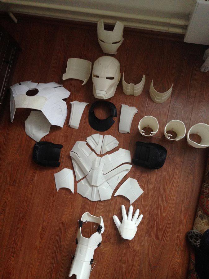 Часть №1: костюм «Железного