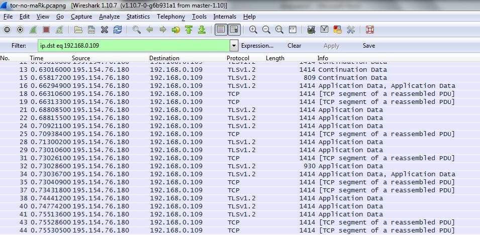 Атаки шейпинга в сетях low latency или почему tor не спасает от  Идет tls трафик внутри которого содержатся блобы пакеты информации преимущественно размером 3648 октетов Размер блоба определяется числом попавших в