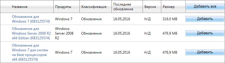пакет обновлений для Windows 7 Sp2 - фото 2