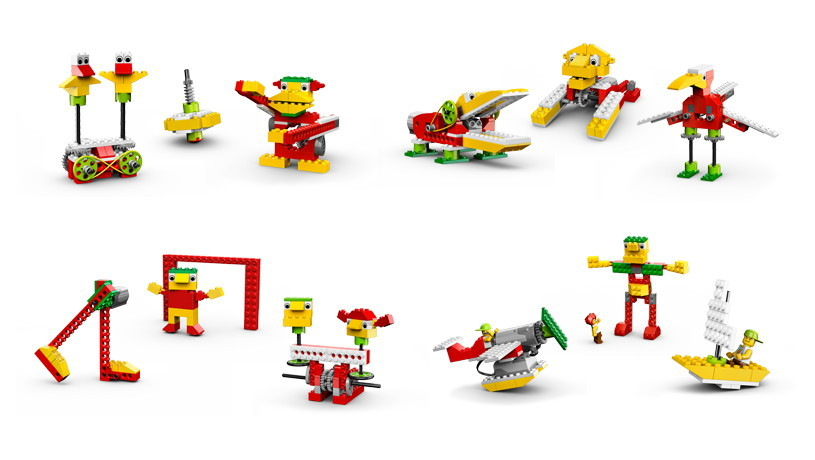 комплекты Lego,