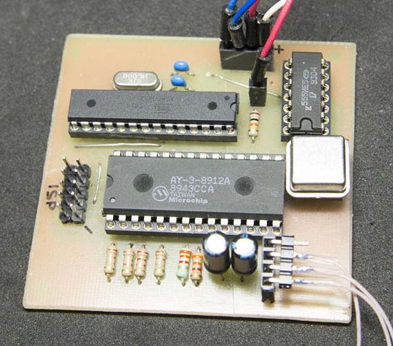 Олдскул, хардкор, AY-3-8912. «Железный» чиптюн с последовательным входом