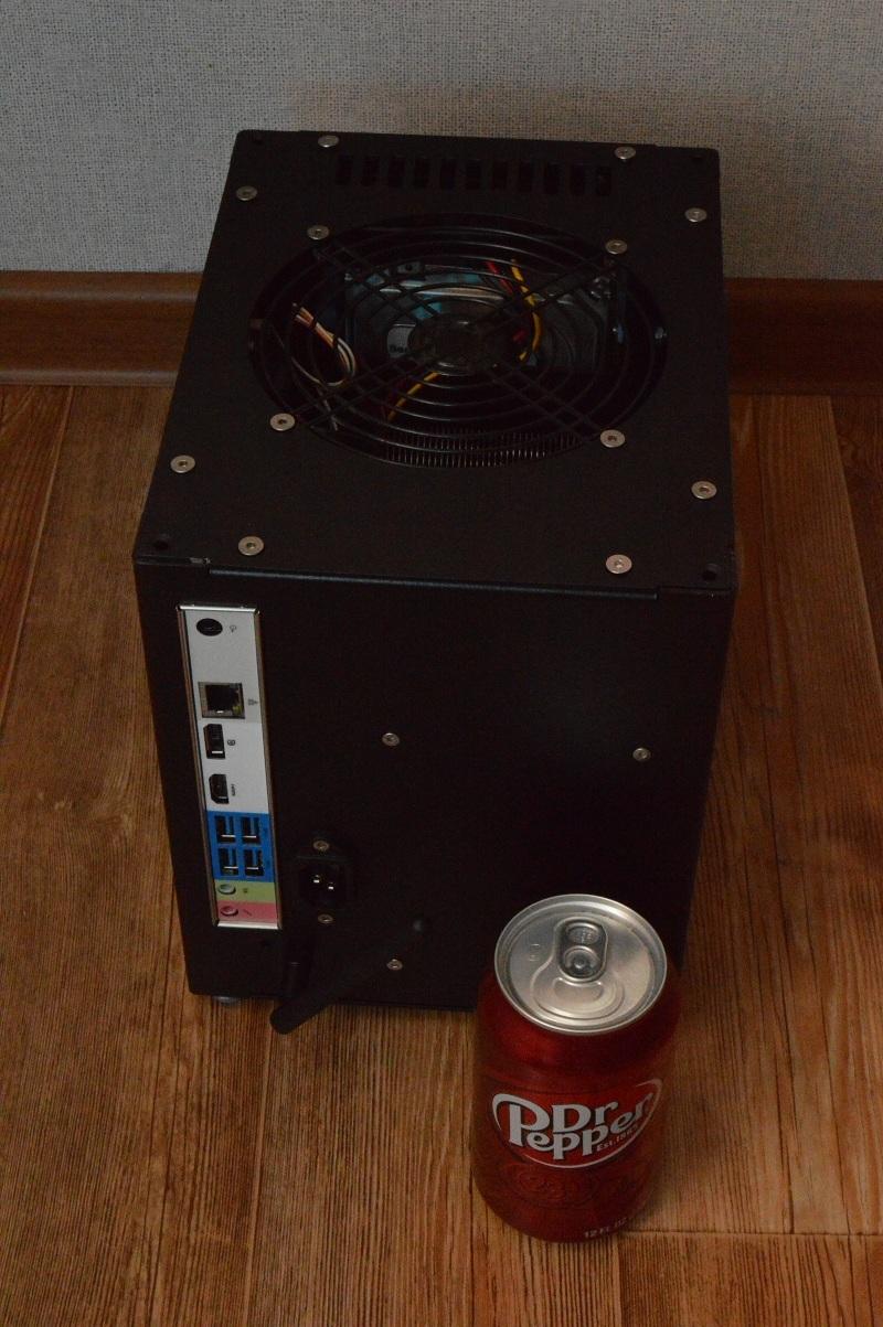 Абсолютно бесшумный, компактный безвентиляторный компьютер на полноценном десктопном процессоре. DIY реализация / Хабр