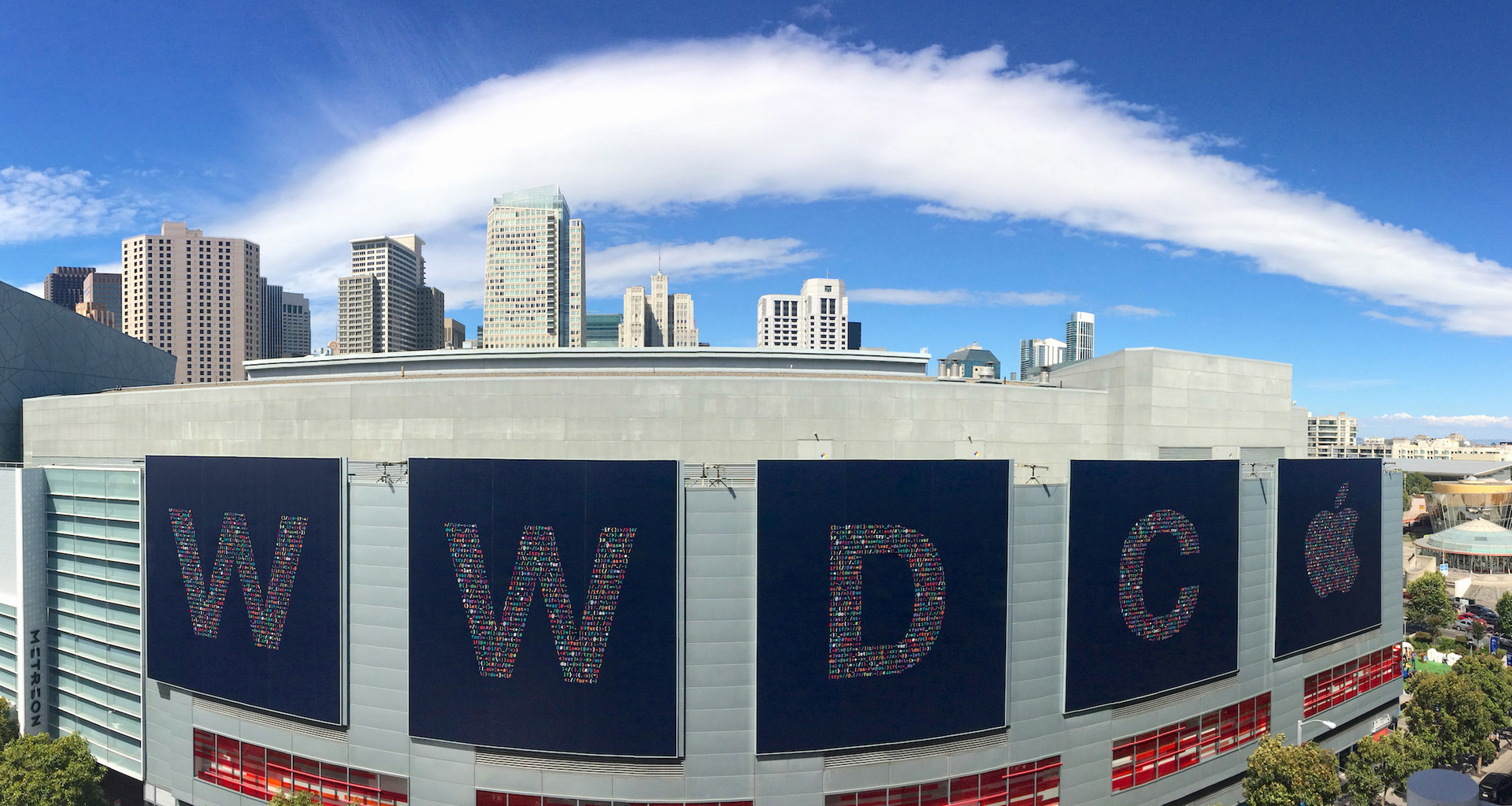 Вид из Moscone West