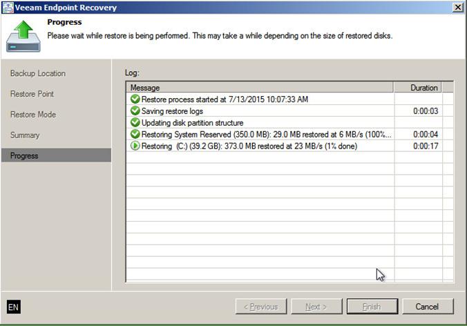Восстановление контроллера домена из резервной копии с помощью Veeam