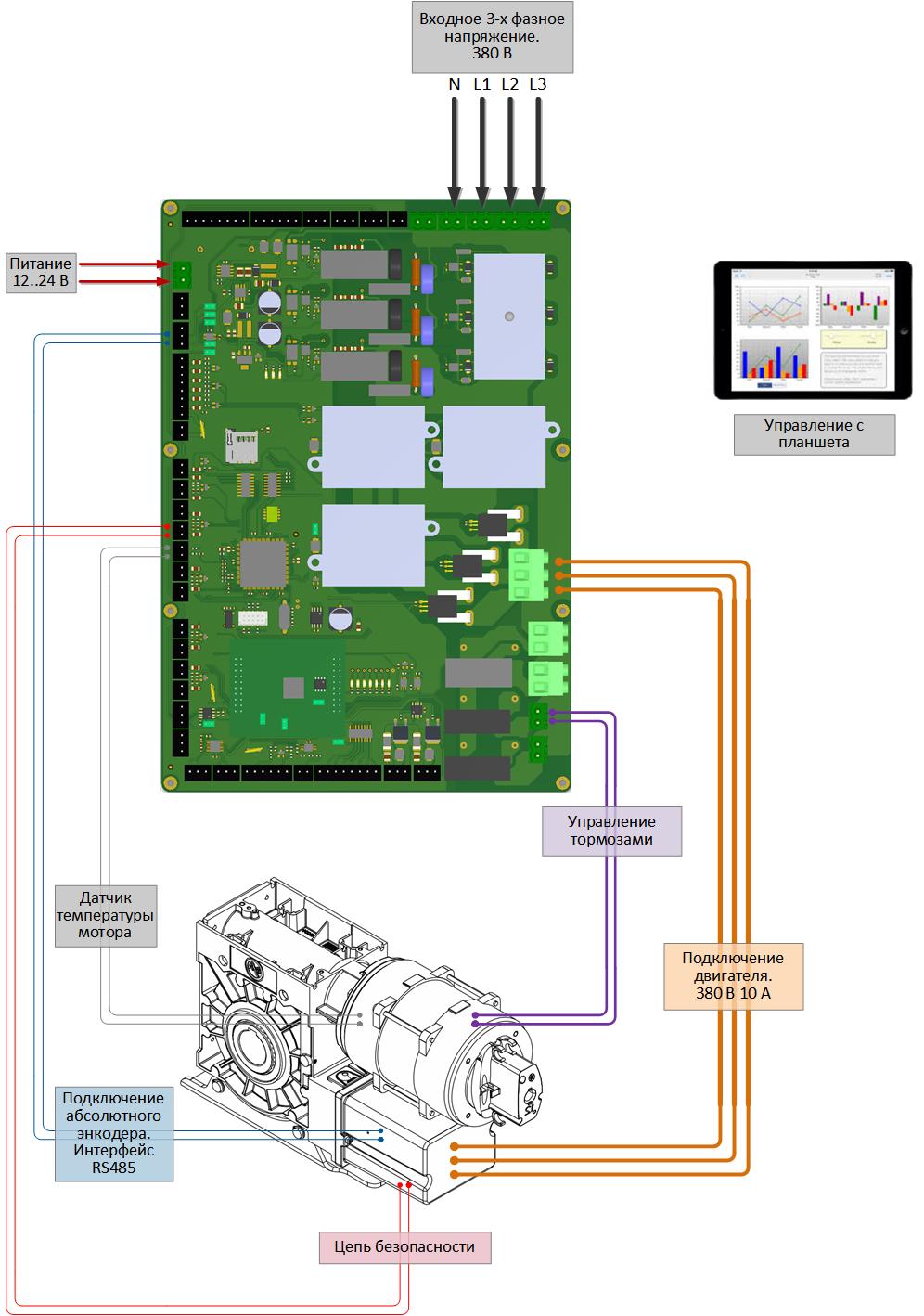 Схема с открытым коллектором фото 985