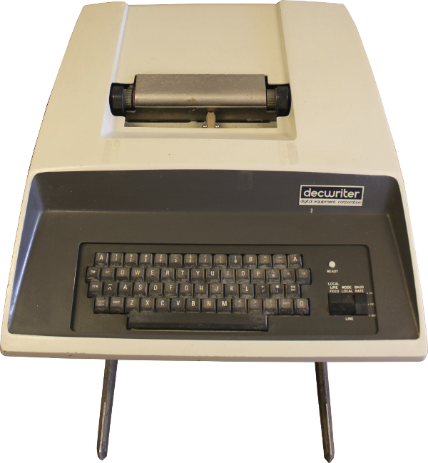 Восстановление PDP 11/04. Терминал LA30 Decwriter