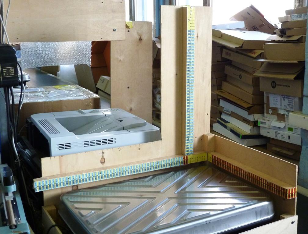 Автоматический 3D сканер размера упаковки