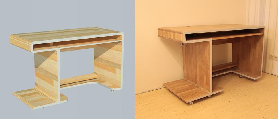 Проект стол из дерева своими руками