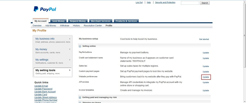 Начните принимать платежи через свой сайт - PayPal 34