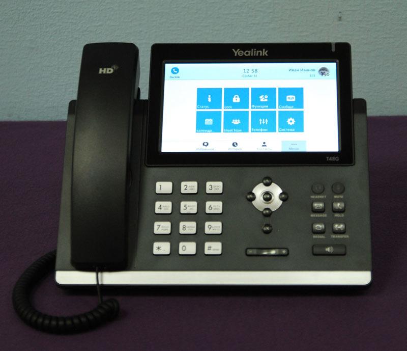 da09a1c4b7c Формально к сороковой серии также можно отнести шикарный видеотелефон  Yealink SIP VP-T49G