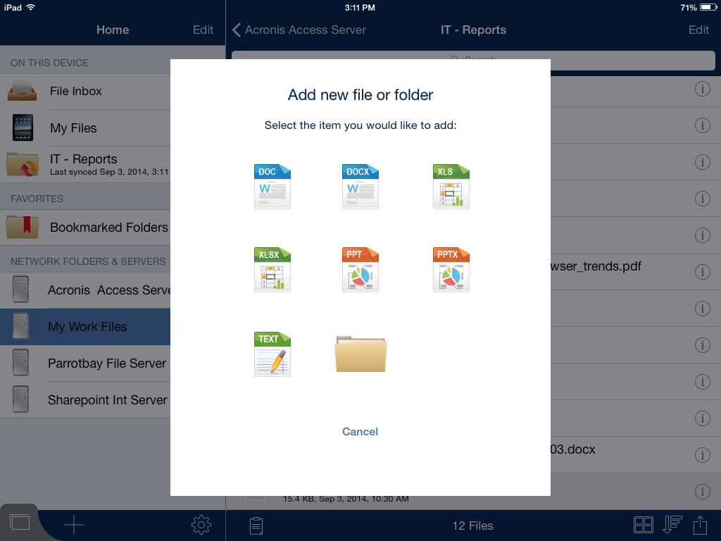 Sync, share secure – три в одном с помощью Acronis Access 7