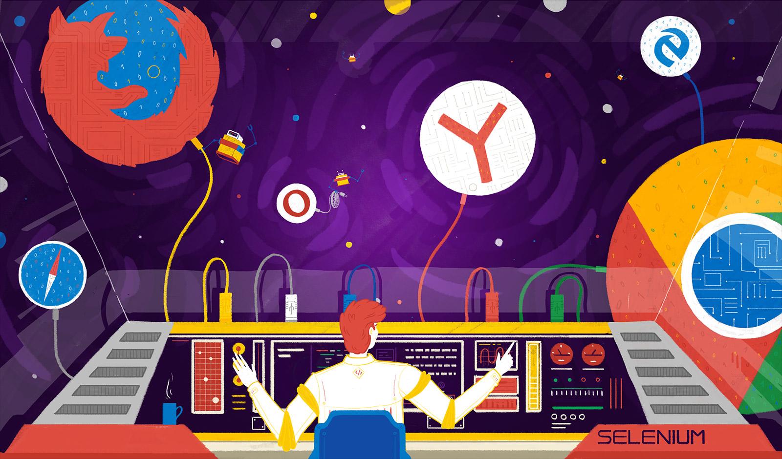 Тестирование в Яндексе. Как сделать отказоустойчивый грид из тысячи браузеров
