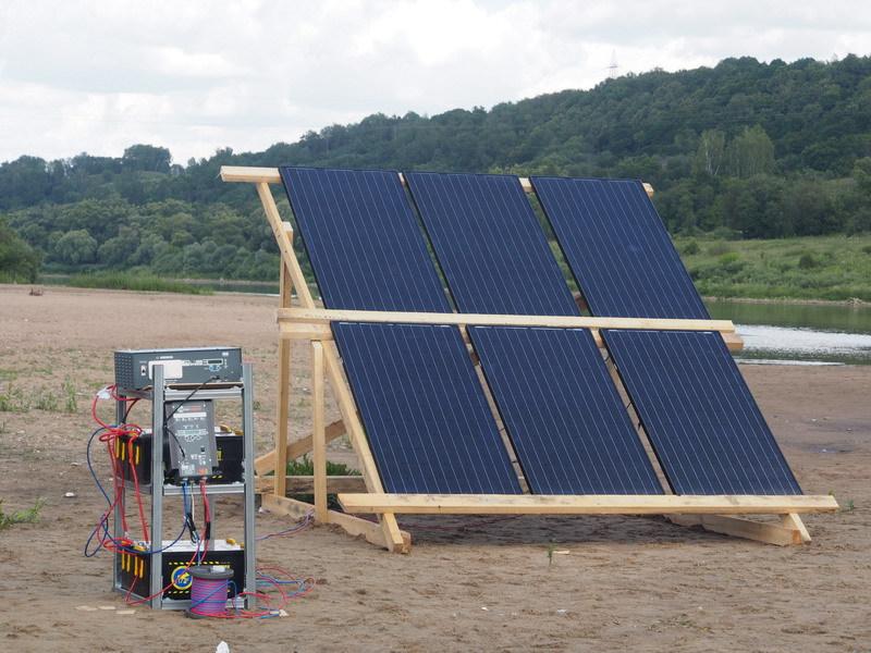 Солнечная энергия на плоту, или Как я провел лето