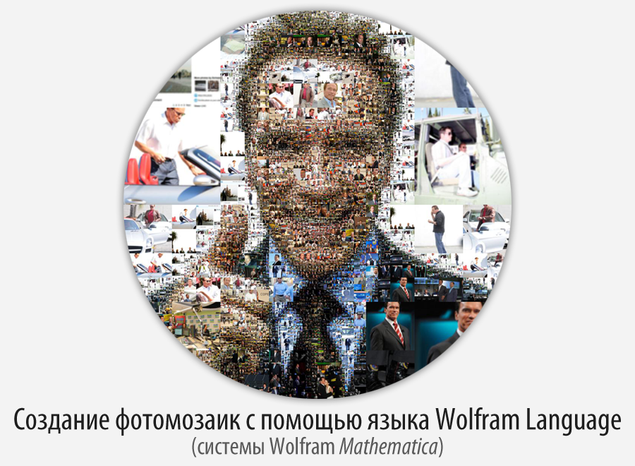 Создание фотомозаик с помощью языка Wolfram Language (Mathematica)