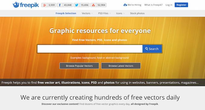 Векторная графика бесплатно — подборка сайтов