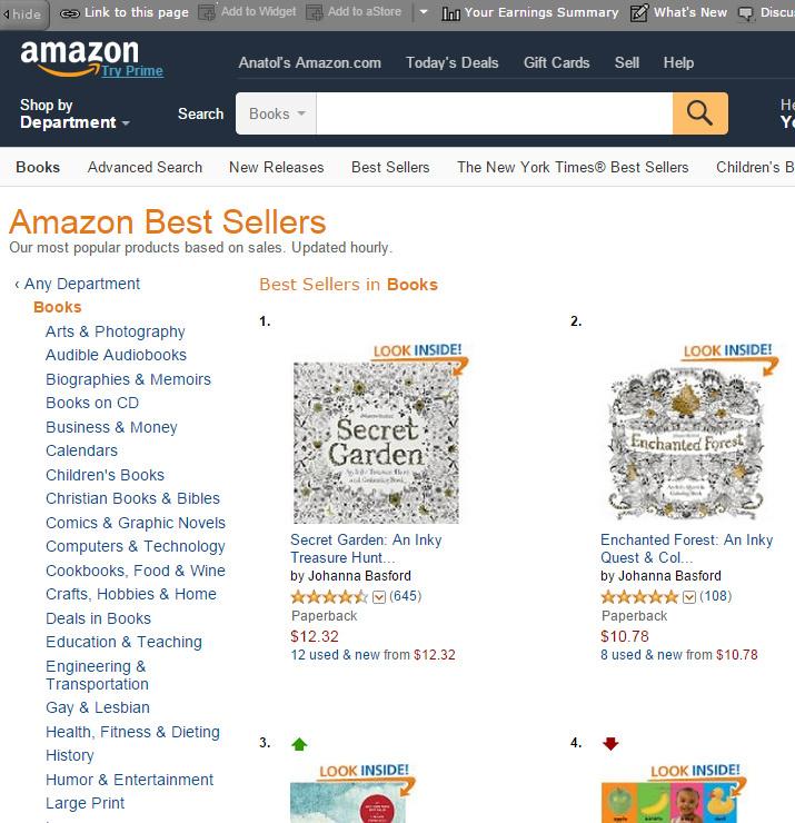 раскраски для взрослых лидеры продаж на Amazon хабр